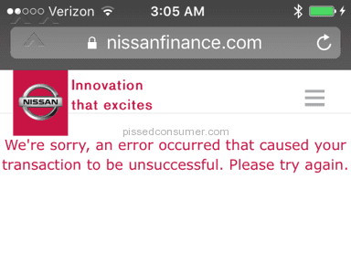 Nissan Motor Acceptance Corporation Financial Services review 119401