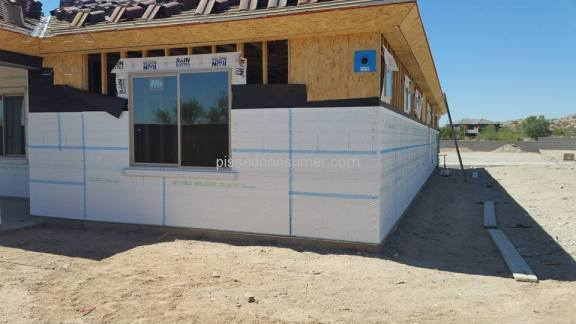William Ryan Homes House Construction