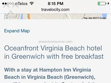 Travelocity - Oceanfront Room Review from Dublin, Virginia