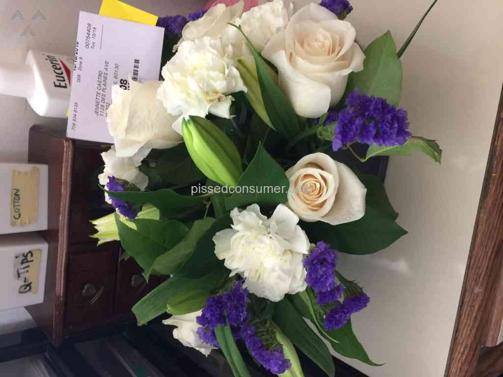 2 from you flowers clear blue skies bouquet reviews and complaints from you flowers never again izmirmasajfo Gallery