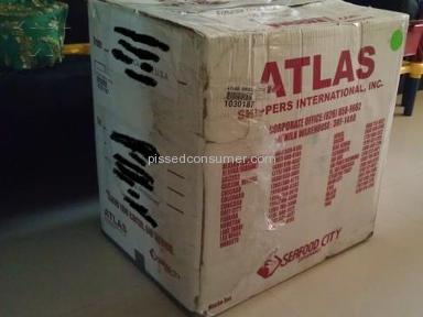 ATLAS Shippers Shipping review 9220