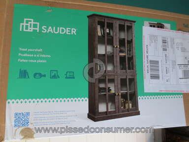 Sauder Furniture New Grange Cabinet review 174924