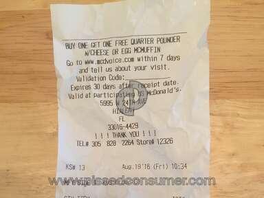 Mcdonalds Big Breakfast Combo Meal review 155830