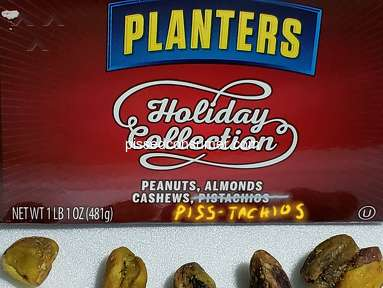 Planters Mixed Plague ? 'MERRY CHRISTMAS YOU FILTHY ANIMAL'?