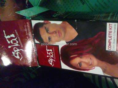 Splat Hair Color Lightening Bleach Hair Dye review 155736