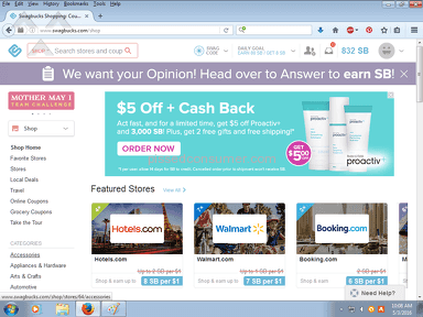 Swagbucks - NOT getting total earned points