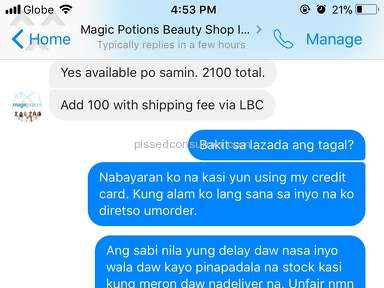 Lazada Philippines - Worst Customer Experience