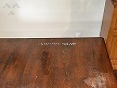 Bob Mills Furniture - Kitchen table scratches just moving plate white spots from glass