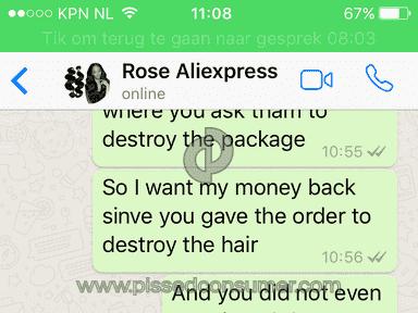 Aliexpress Mongolian Hair Extension review 194268