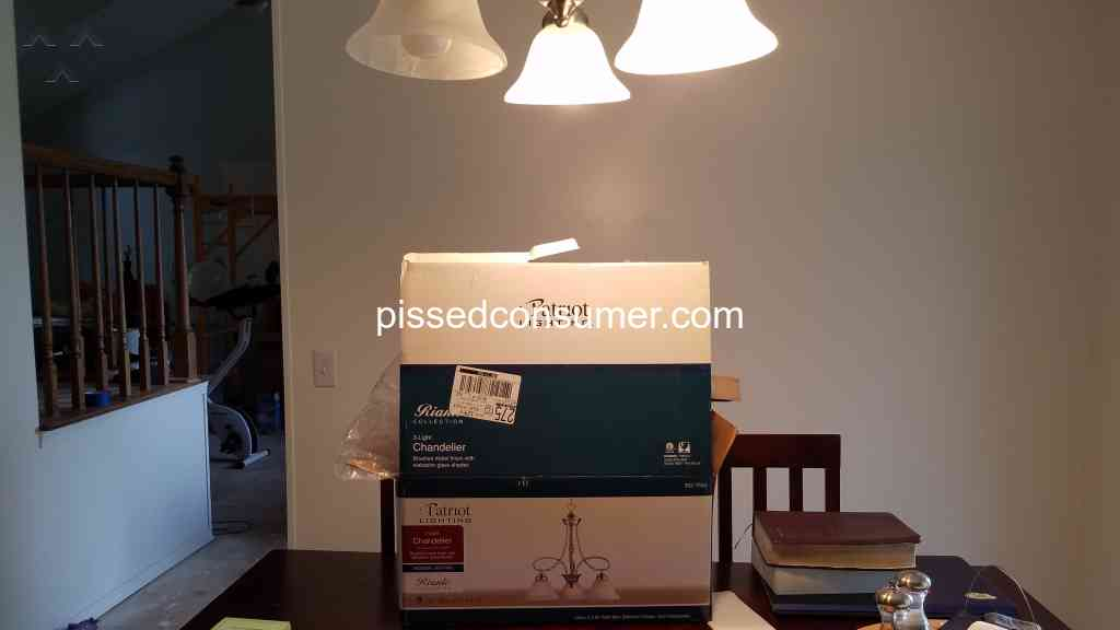 48 Patriot Lighting Reviews And Complaints Ed Consumer