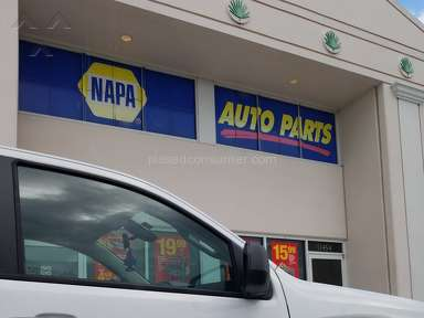 Napa Auto Parts - Core deposits poor rule