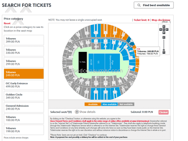 Ticketmaster - Cheated with seats