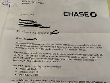 Chase Bank Banking Service review 239470