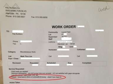 Kay Builders - Kay Builder Review - Unethical and Lousy workmanship