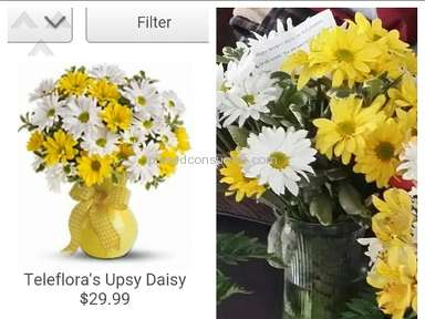 Teleflora Flowers review 71339