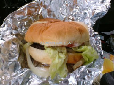 Cook Out - Burger Review from Suffolk, Virginia