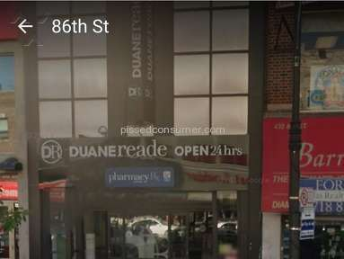 Duane Reade Customer Care review 157502