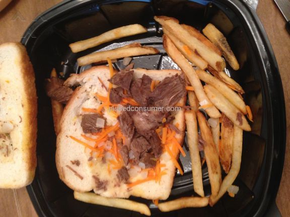 Bob Evans Restaurants Slow Roasted Pot Roast Sandwich