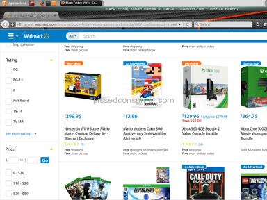 Walmart Website review 100049