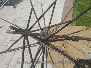 Treasure Garden - Broken umbrella