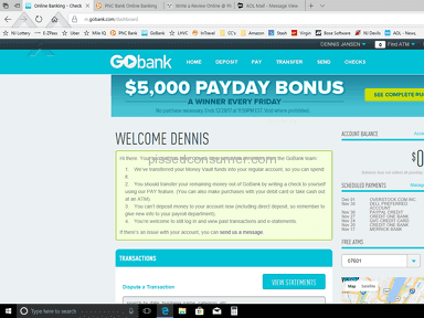 GoBank - Account shut down out of no where