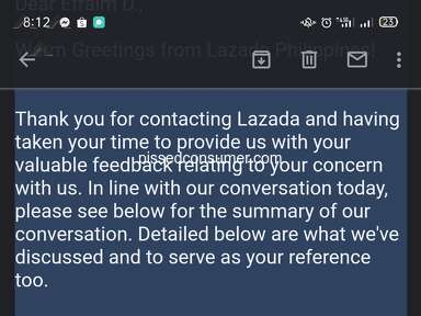 Lazada Philippines Auctions and Marketplaces review 1014683