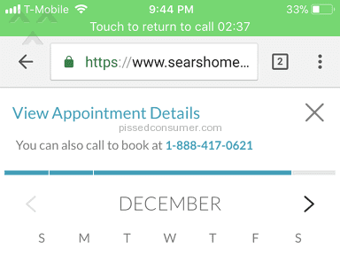 Sears Home Services - Horrible scheduling