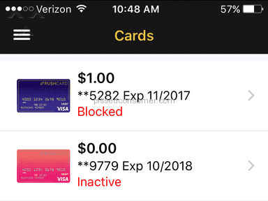 Rushcard Replacement Card Review