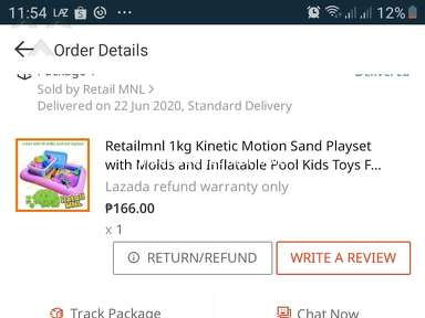 Lazada Philippines Shipping Service review 663403