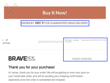 Brave New Look Shipping Service review 182278