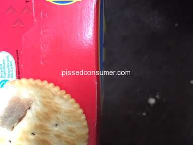 Ritz Crackers - Found foreign matter in my crackers