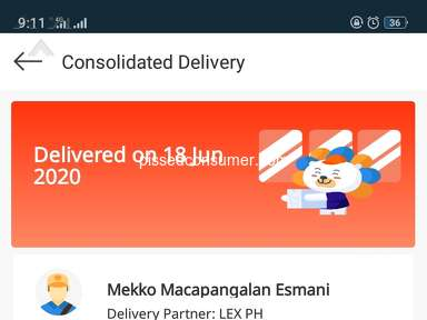 Lazada Philippines Lazada Express Delivery Service review 644611