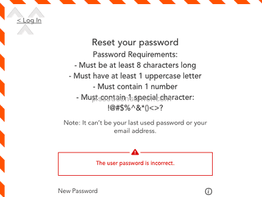 The Childrens Place - Password Confusion