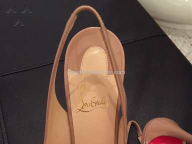 Christian Louboutin - Awful customer service horrible quality