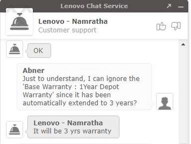 Lenovo - Don't bother purchasing off the website
