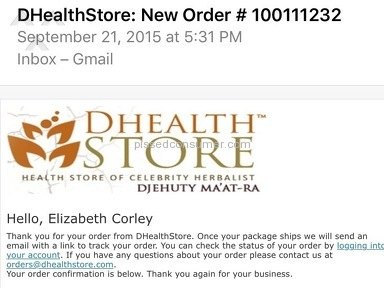 Dhealthstore Health and Beauty review 90501