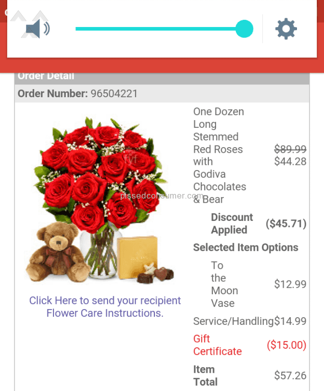 1 From You Flowers One Dozen Long Stemmed Red Roses With Godiva