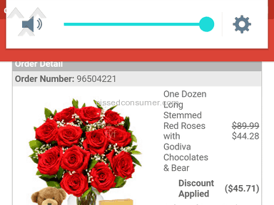 From You Flowers One Dozen Long Stemmed Red Roses With Godiva Chocolates And Bear Arrangement review 131715
