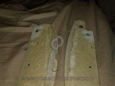 Art Van Furniture - Fiberboard used instead of solid wood