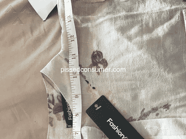 Fashionmia - Fraudulent company