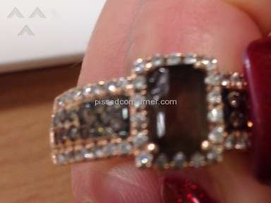 Le Vian chocolate diamond poor quality product