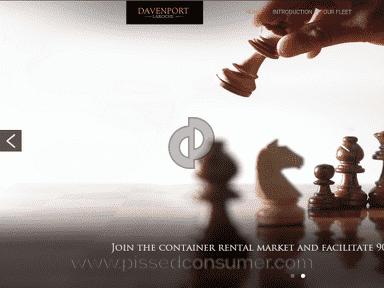 Davenport Laroche Website review 180128