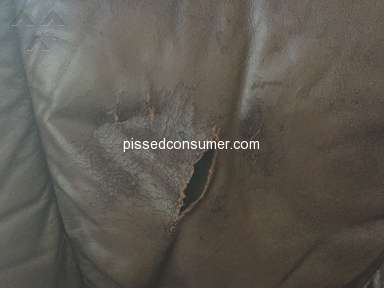 Ultra Shield - WE HAVE RIP IN A LEATHER LAZBOY THAY SAID ITS NOT COVERED ?