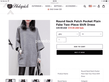 Holapick Footwear and Clothing review 359508