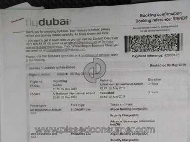 Saudi Arabian Airlines - NOT GOOD
