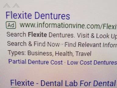 Global Dental Solutions Illegal use of Flexite Name in Bing Search
