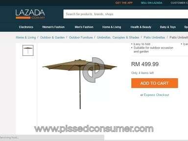 Lazada Malaysia Umbrella review 138649