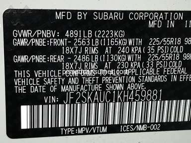 Subaru Of America 2019 Subaru Of America Forester Car review 368624