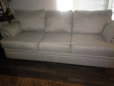 Living Spaces Sofa review 161264