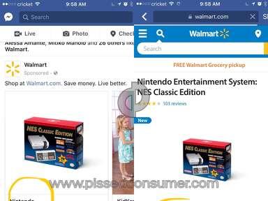 Walmart Nintendo Video Game Console review 179468